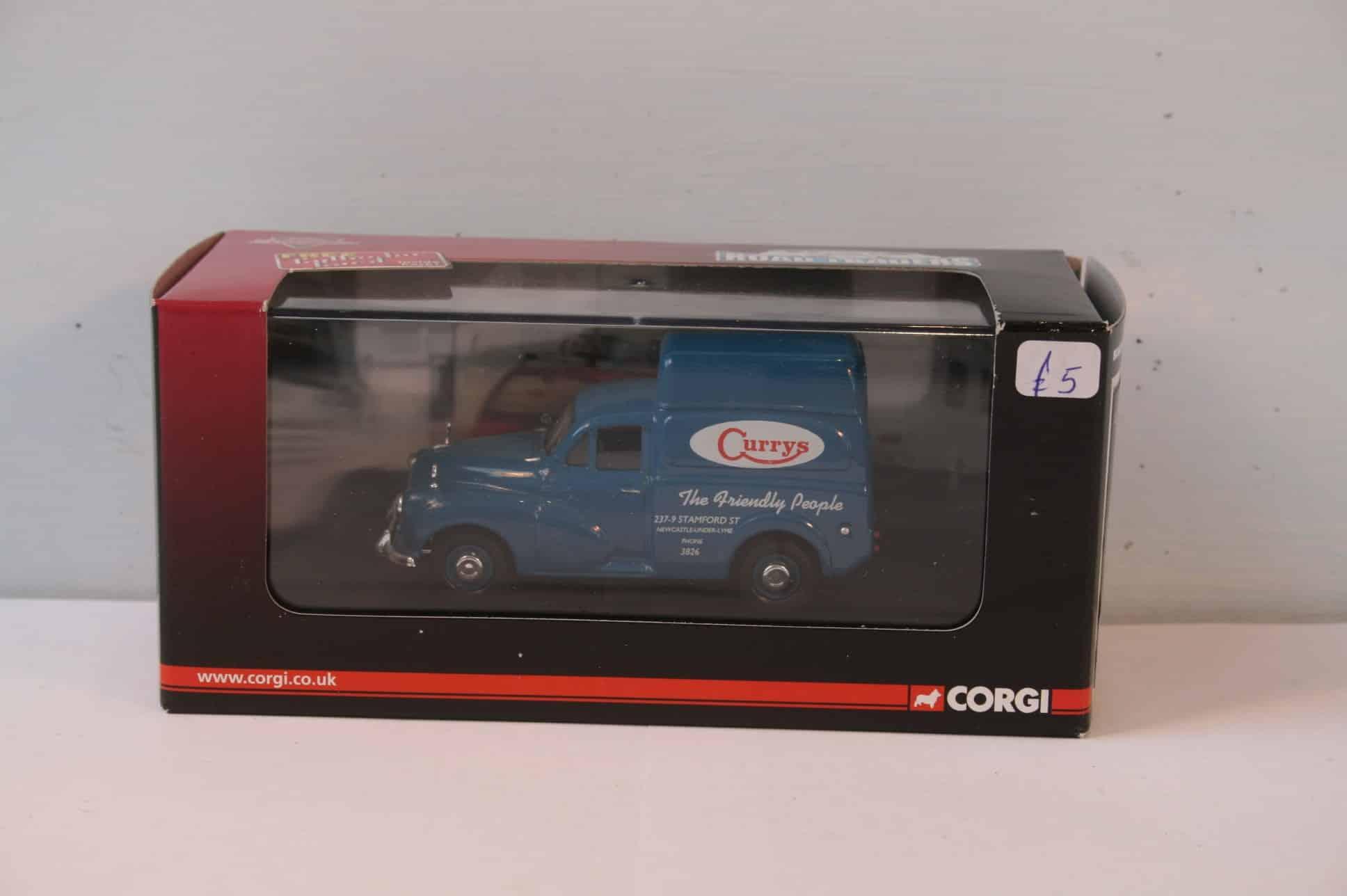 Morris 1000 Van in Currys livery
