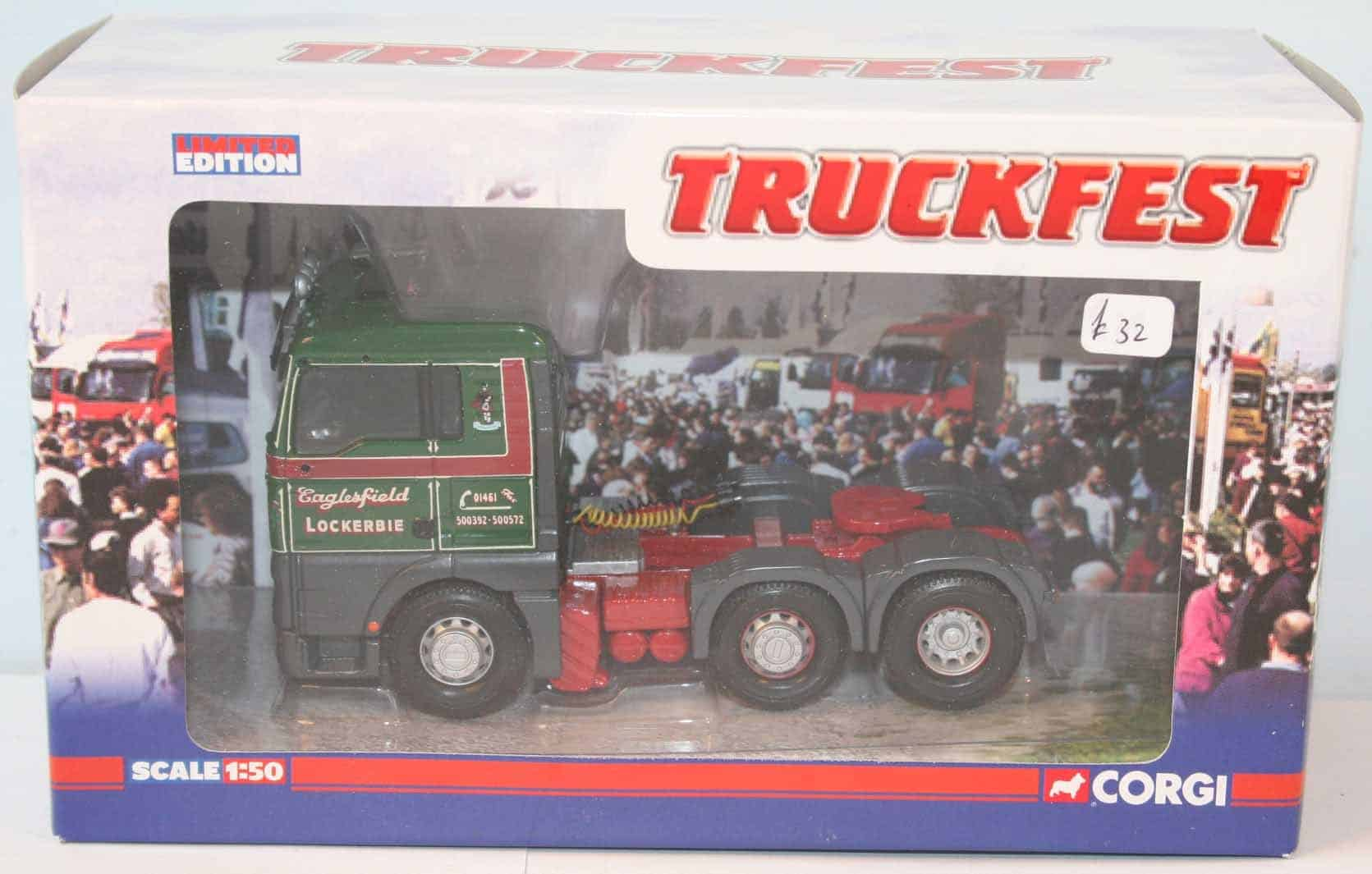 ERF ECT Tractor Unit in Ian Wright Transport livery