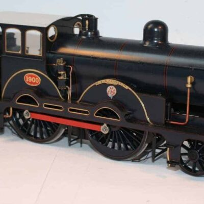 "GER Class S46 4-4-0 tender engine 1900 ""Claud Hamilton"""
