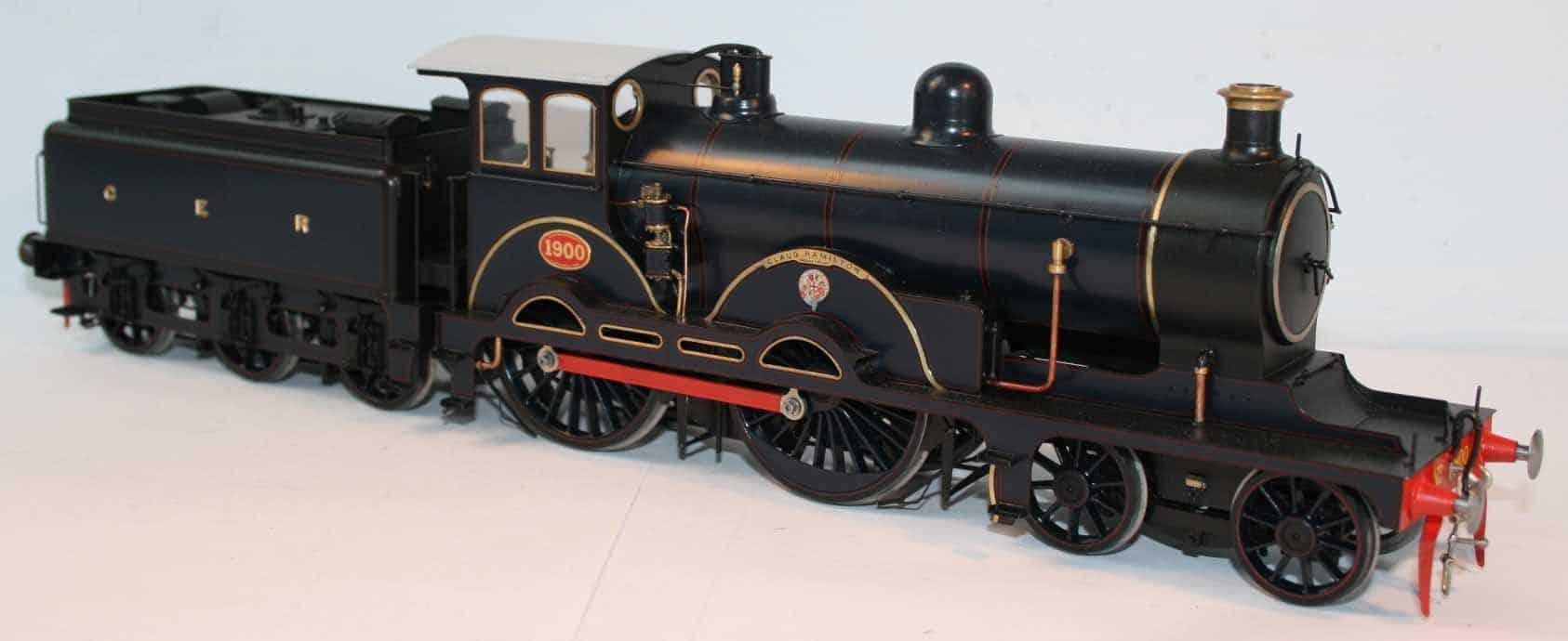 "GER Class S46 4-4-0 tender engine 1900 ""Claud Hamilton"""