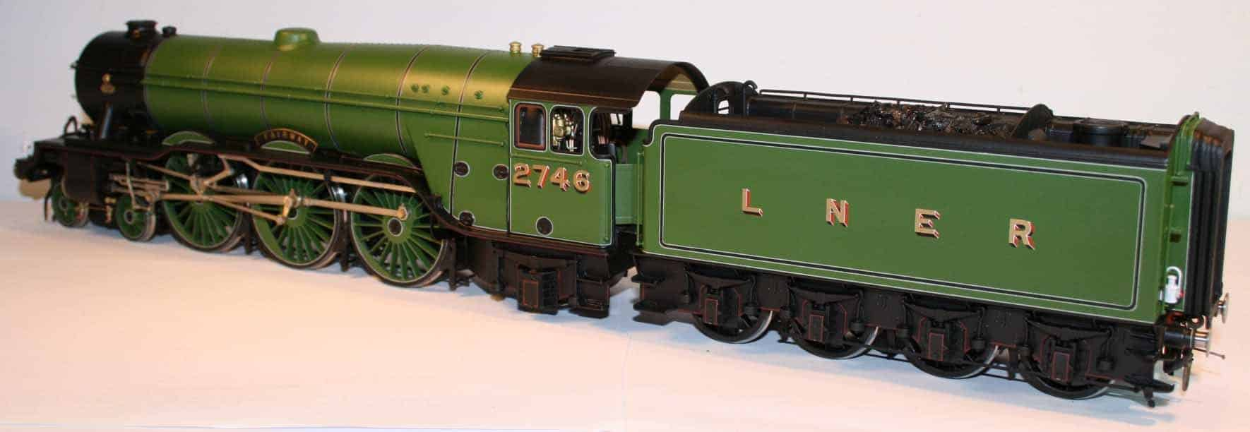 "LNER Class A3 engine number 2746 ""Fairway"""