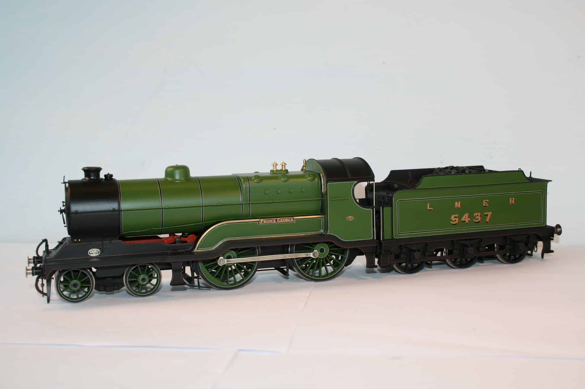"""LNER (Ex GCR) Class D10 number 5437 """"Prince George"""""""