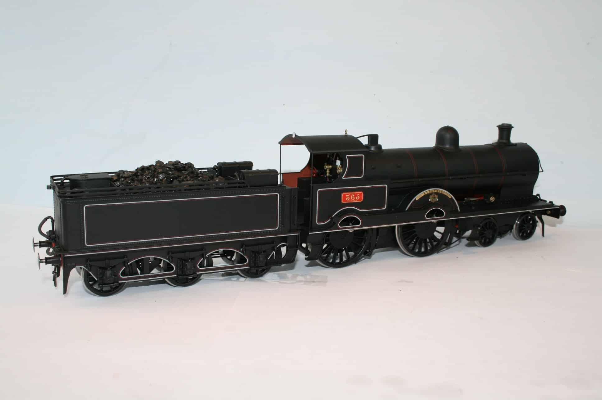 "LNWR ""Precursor"" Class 4-4-0 engine 365 ""Alchymist"""