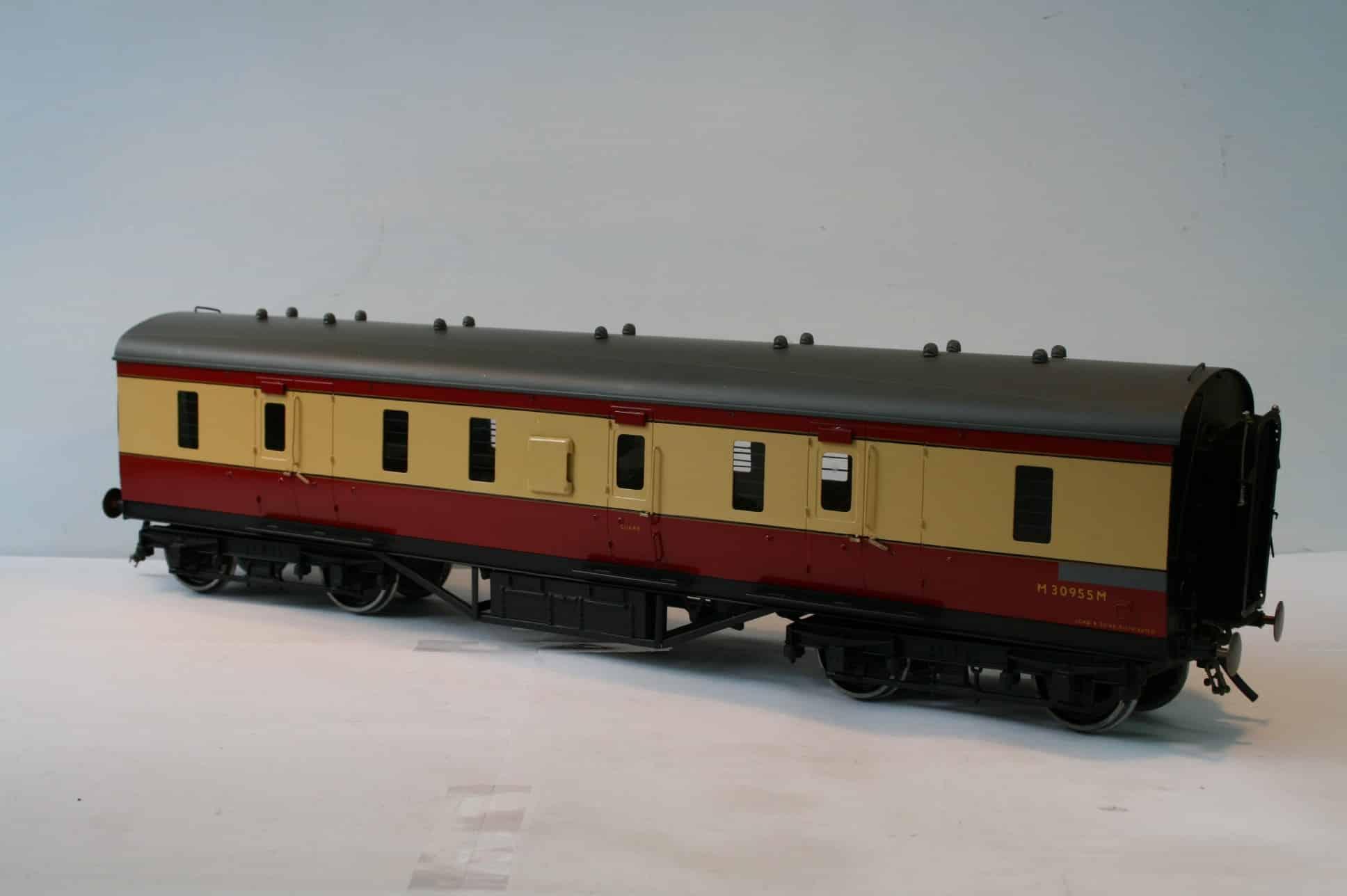 BR (Ex. LMS) Dia.1854 50ft. Corridor Full Brake