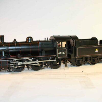Darlington built Ivatt Class 2 2-6-0 tender engine