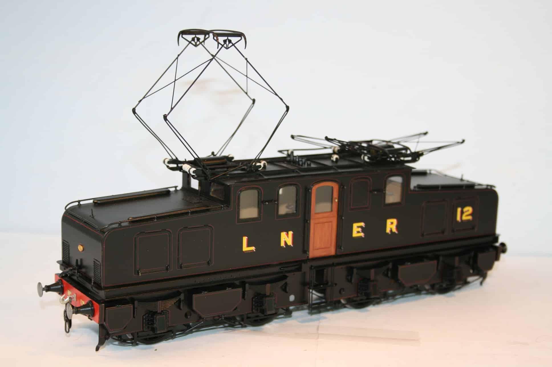 LNER (Ex NER) Class EF1 Bo+Bo Electric Locomotive number 12