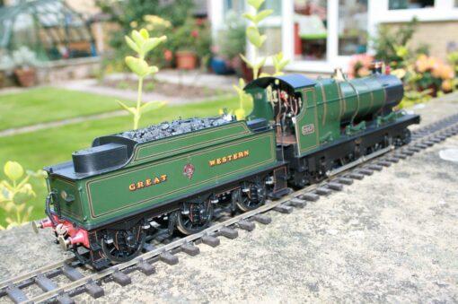 """GWR """"Aberdare"""" Class 2-6-0 tender engine 2667"""