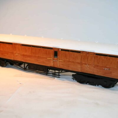 LNER Thompson Dia.344 Corridor Luggage Brake 105