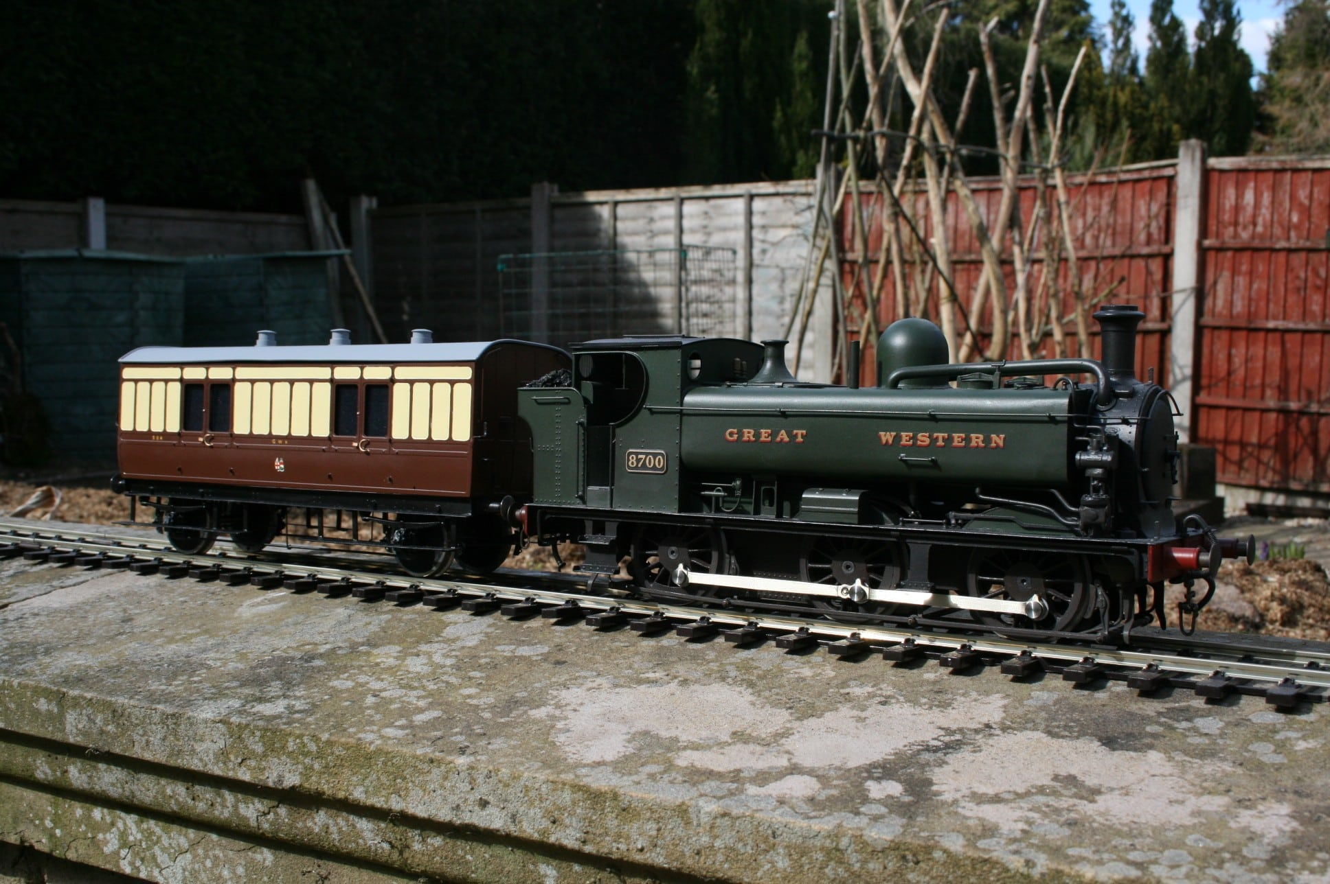 GWR 87xx 0-6-0PT engine number 8700 in original condition