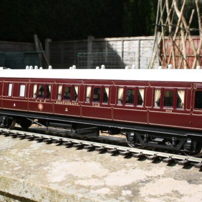 GWR Dia. H16 Restaurant Car in Crimson Lake livery
