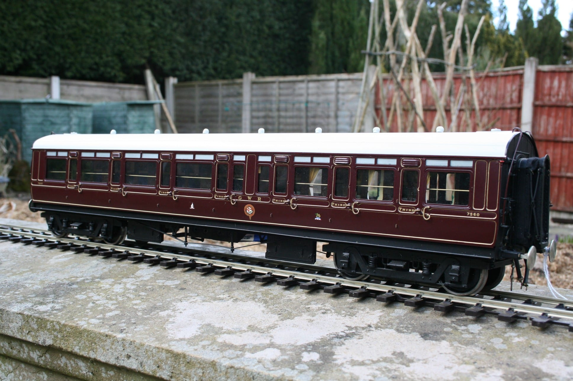 GWR Dia. E88 Composite in Crimson Lake livery