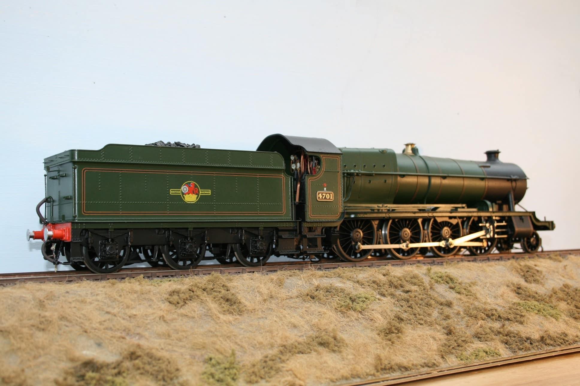 BR(W) 47xx Class 2-8-0 tender engine 4701