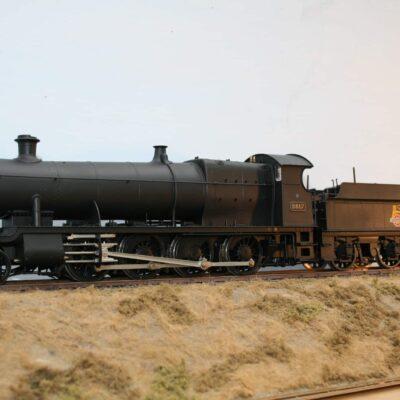 BR(W) 28xx Class 2-8-0 tender engine 2817