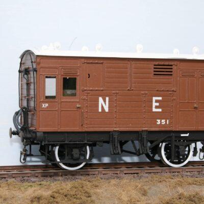 LNER Horsebox fleet number 351