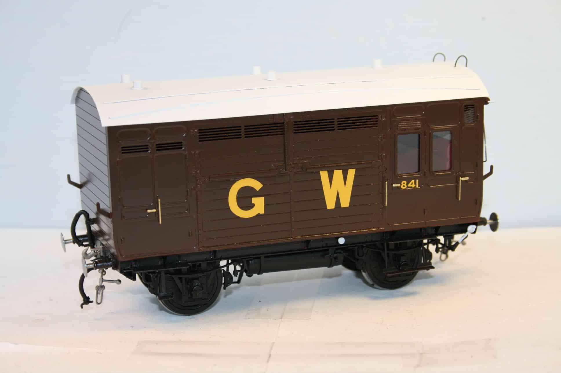 GWR Horsebox in circa 1912 condition