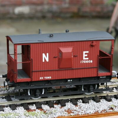 LNER Toad E 20T Brake Van number 175608