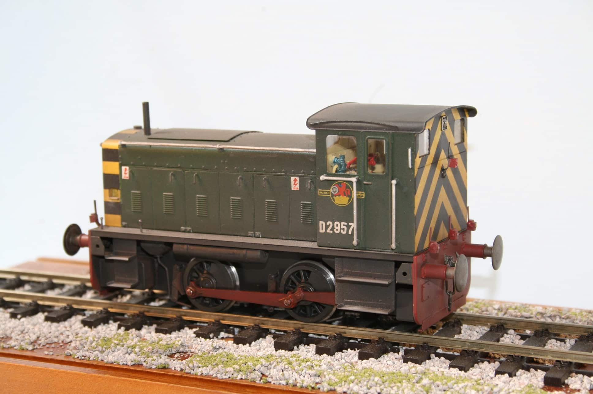BR Ruston 165DS 0-4-0DM Locomotive number D2957