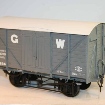 "GWR Dia. V23 ""Mink"" fitted Goods Van r/n 125894"