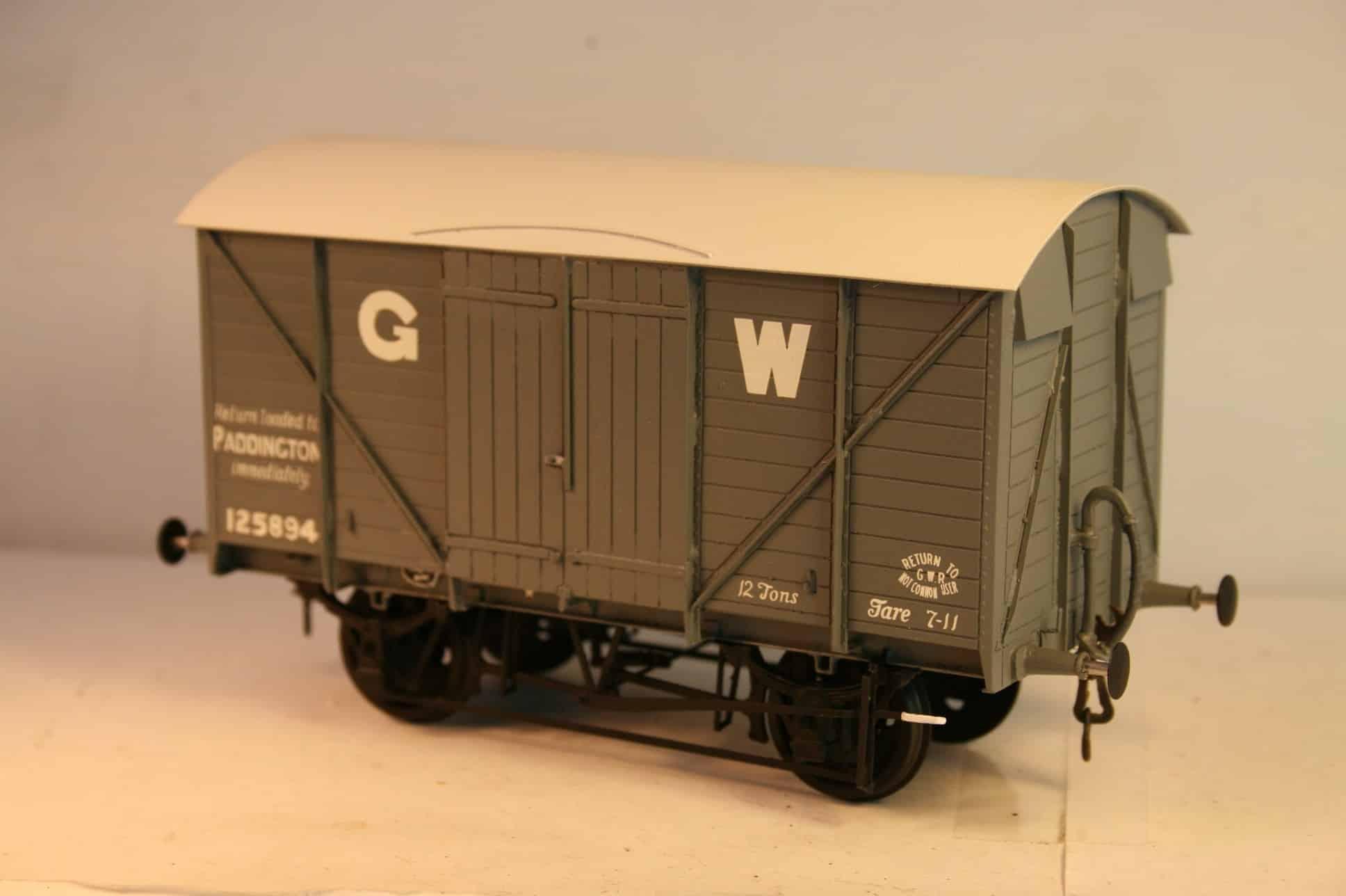 "GWR Dia. V23 ""Mink"" fitted Goods Van r/n 125894"