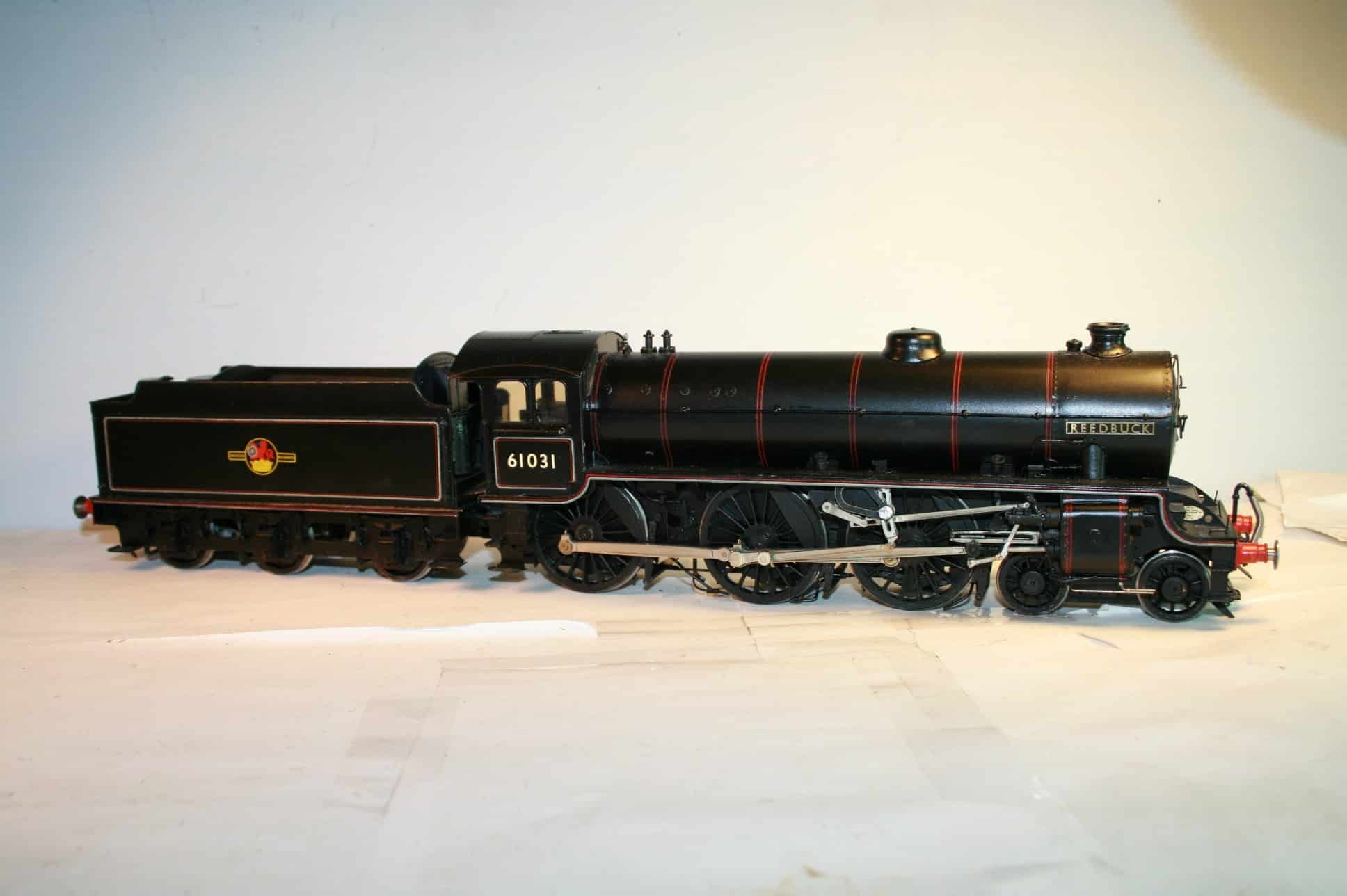 "BR Class B1 4-6-0 tender engine r/n 61031 ""Reedbuck"""