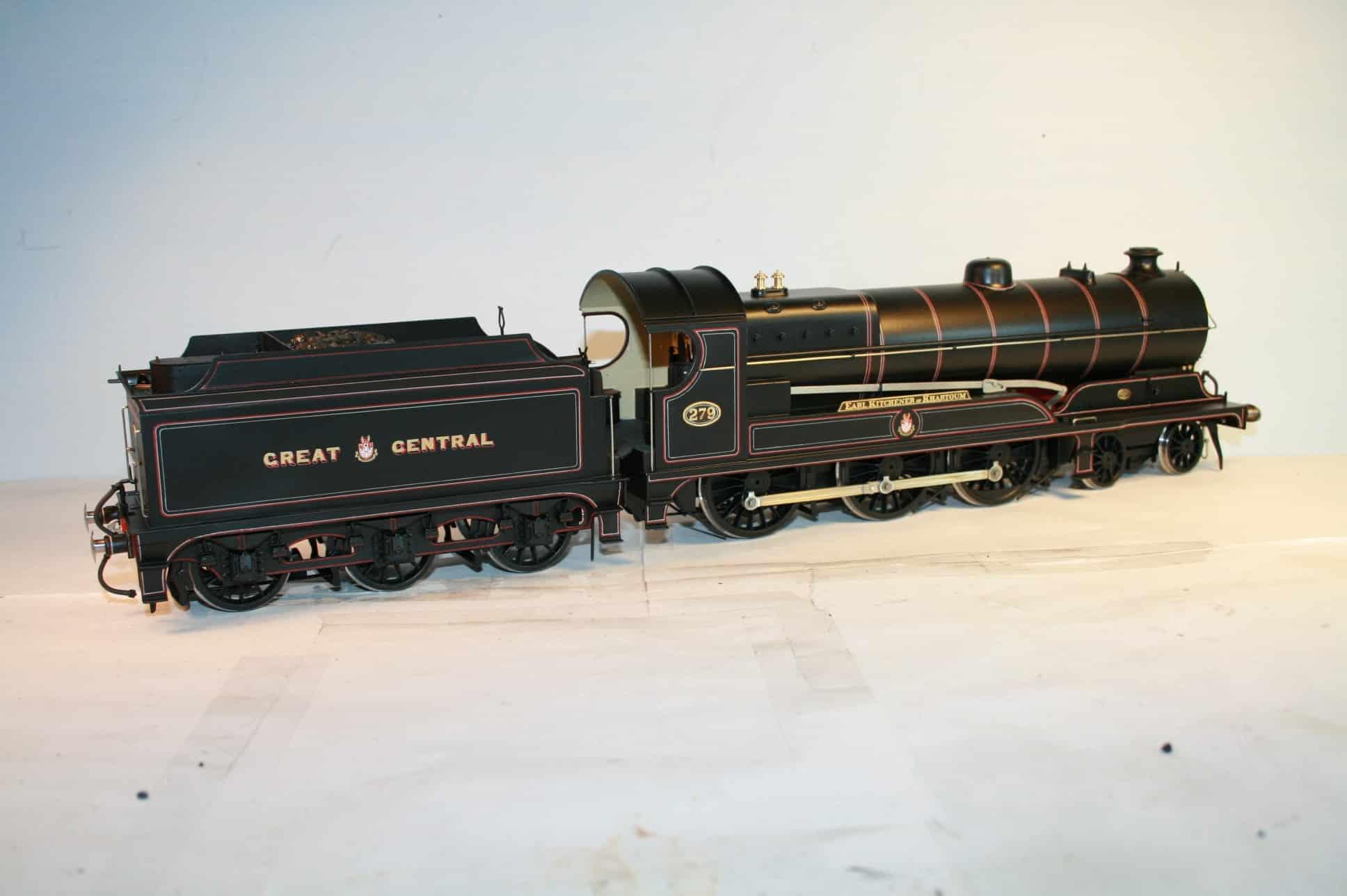 "GCR Class 1A ""Glenalmond"" Class 4-6-0 r/n 279 ""Earl Kitchener of Khartoum"""