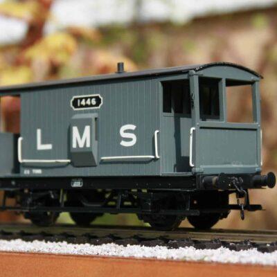 LMS (Ex.MR) 20 ton Brake Van r/n 1446