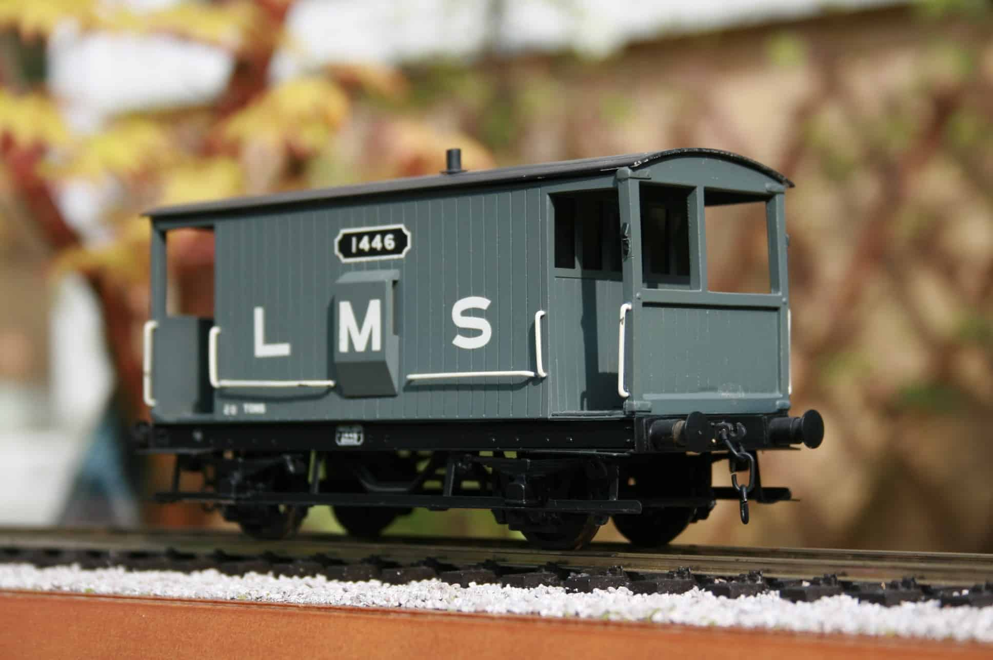 LMS (Ex.MR) 20 ton Brake Van r/n 1446