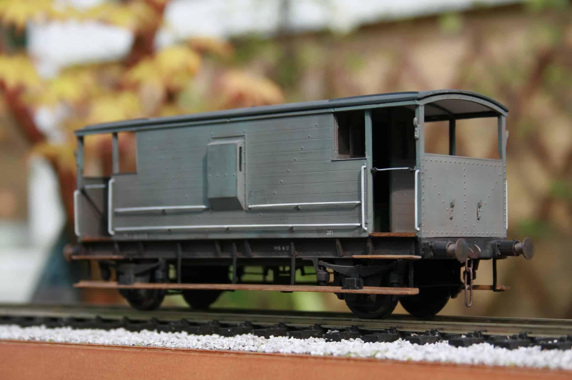 BR(M) Dia.1919 20 ton Brake Van r/n M 730300