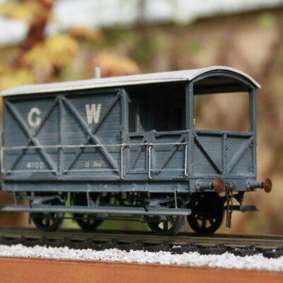 GWR 12 ton Brake Van to Lot osL253 r/n 4100