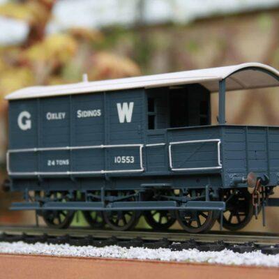 GWR Dia. AA1 24 ton 6 wheel Brake Van r/n 10553