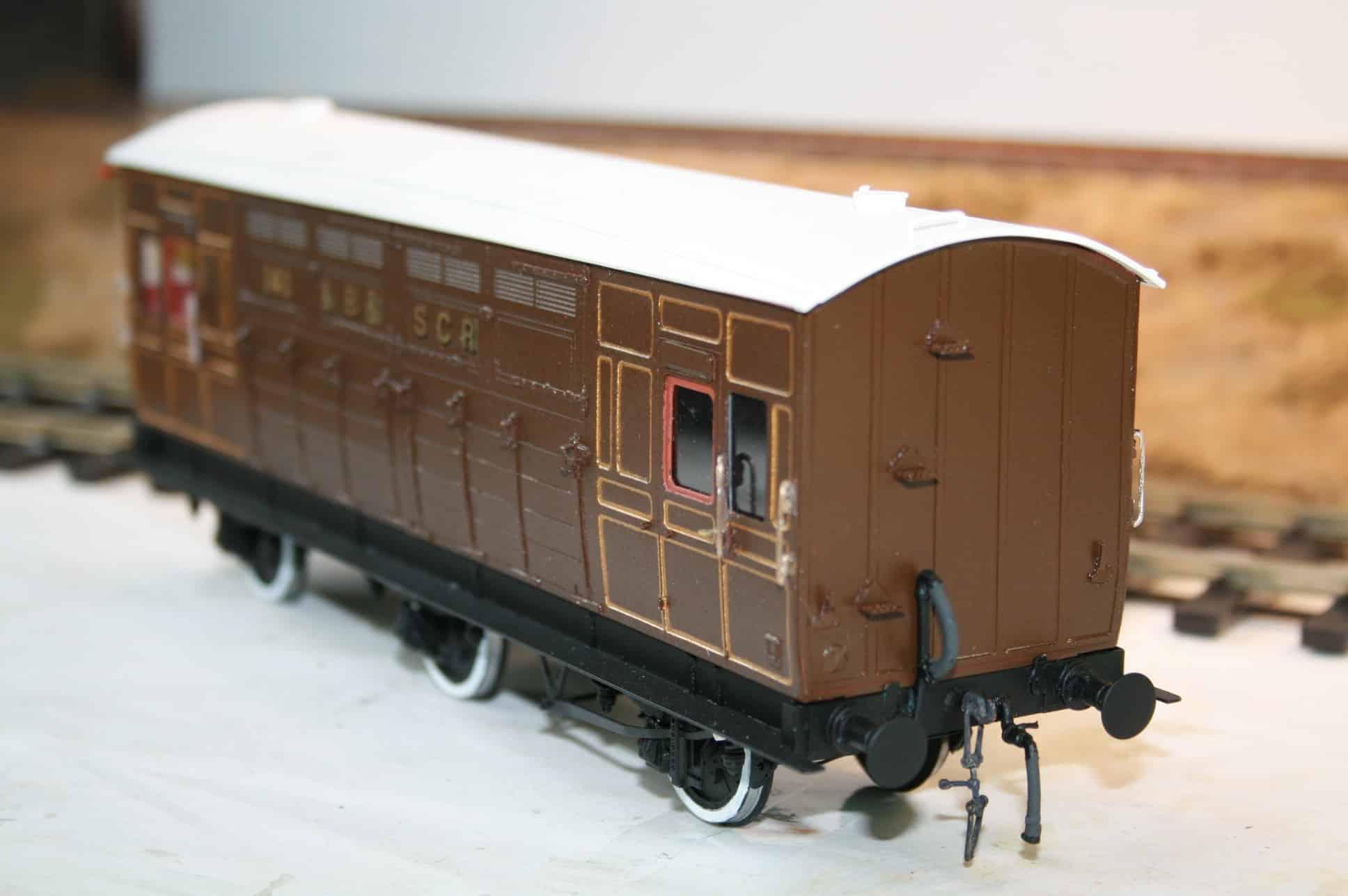 LB&SCR Dia.142/274 6 wheel Horsebox r/n 141