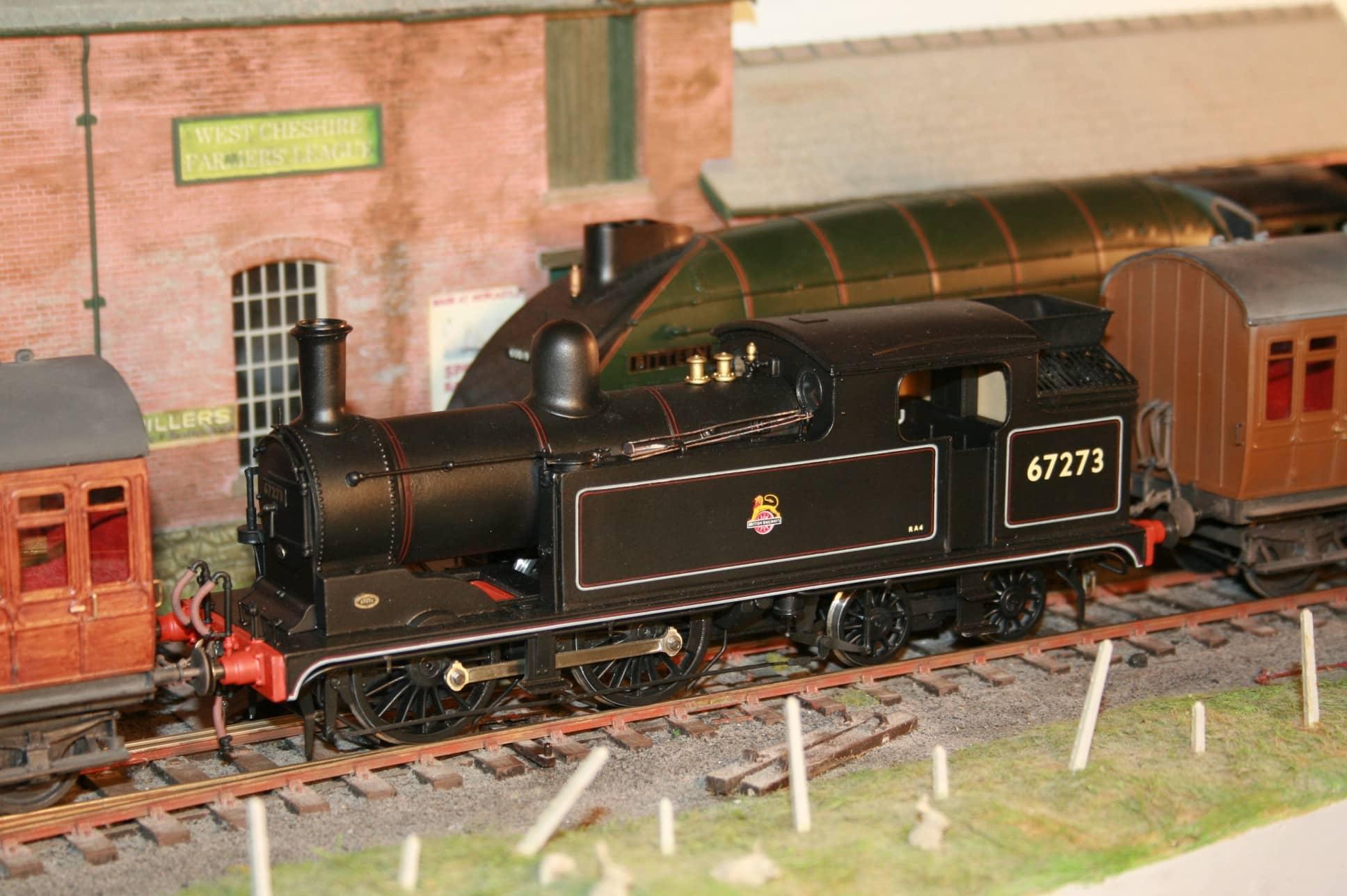 BR (Ex.NER/LNER) Class G5 0-4-4T r/n 67273