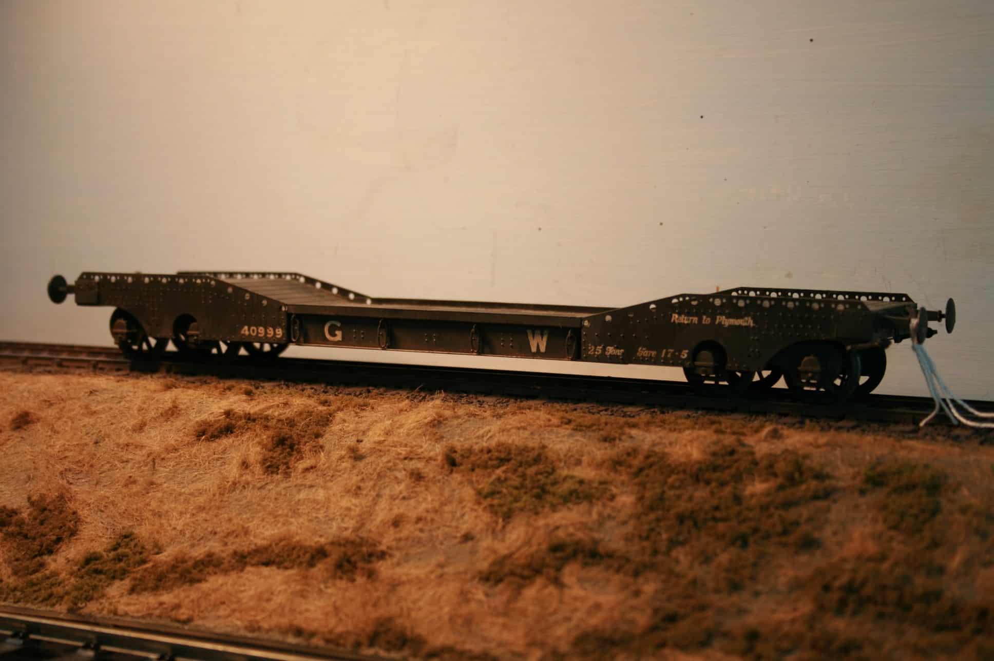 GWR Dia.F2 Steam Roller Truck r/n 40999