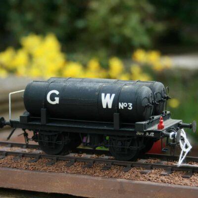 """GWR Dia.DD5 """"Cordon"""" Oil Gas Tank Wagon r/n 3"""