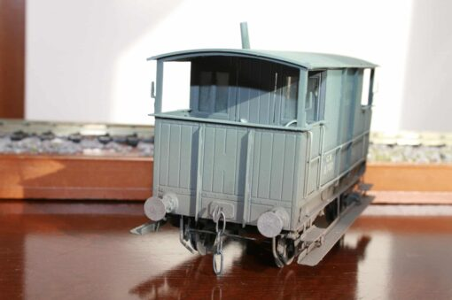 GWR (Ex.Cambrian) 15T Brake Van r/n 8780 in weathered GWR grey livery