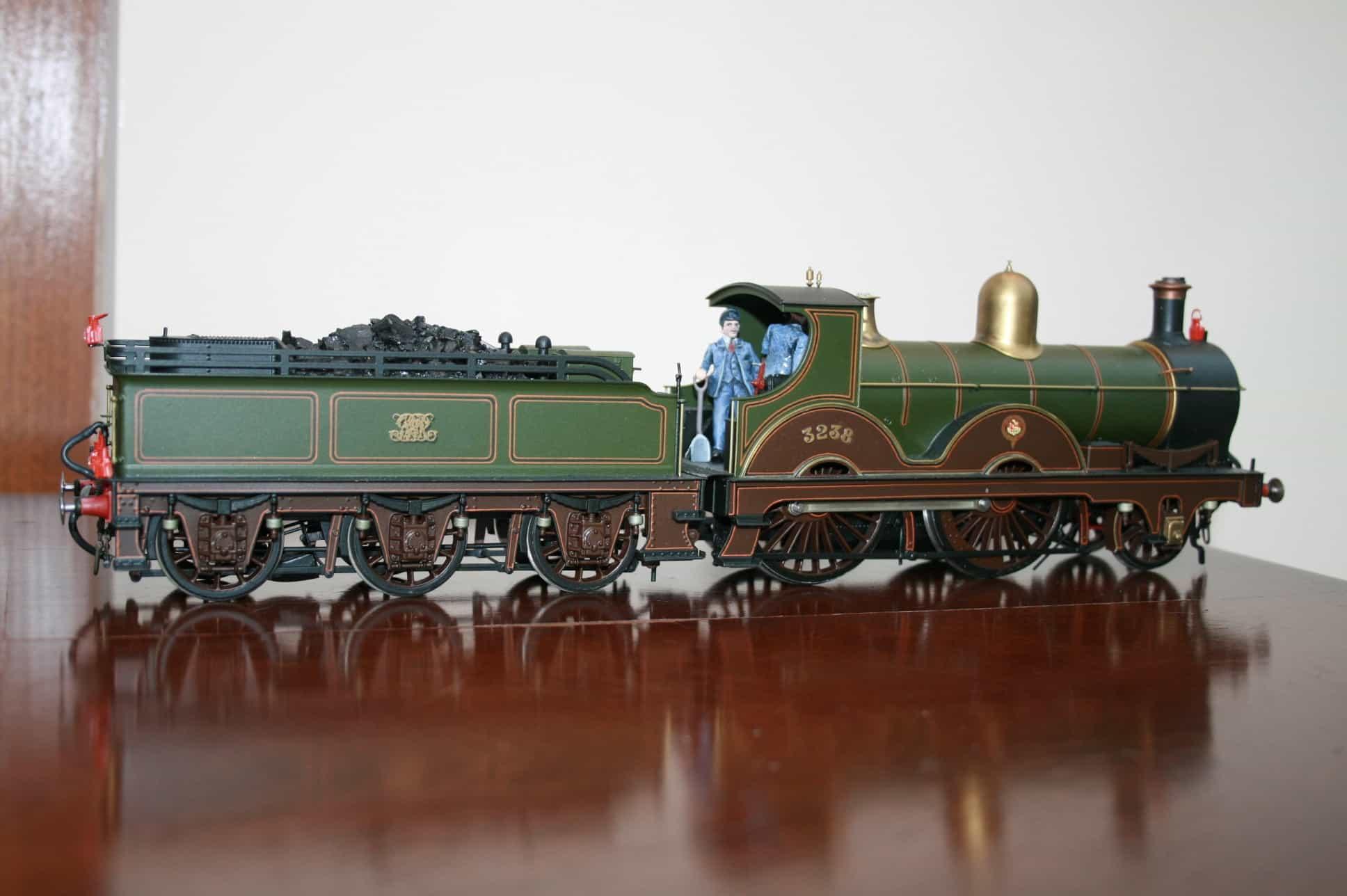 "GWR ""32xx"" Class 2-4-0 tender engine r/n 3258"
