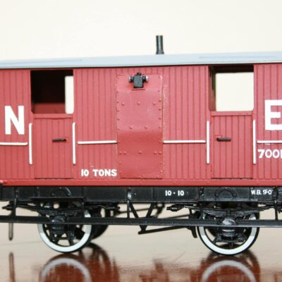 LNER (Ex.NBR) 10T 4-wheel Brake Van r/n 700121
