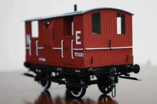 LNER (Ex.NBR) 10T 4-wheel Brake Van r/n 700121