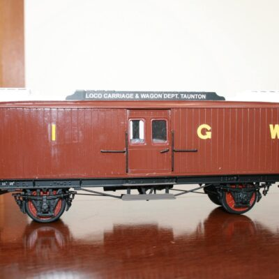GWR Taunton Engineers/Breakdown Tool Van